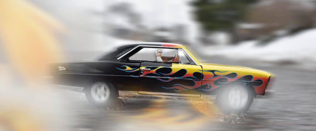 Racing on a Highway